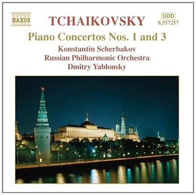进口cd:柴科夫斯基:第一和第三钢琴协奏曲