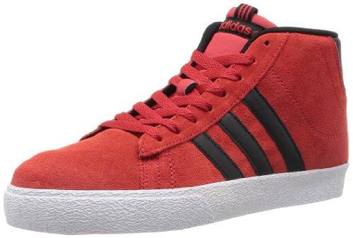 Adidas NEO 阿迪达斯运动生活 BASKETBALL 男 休闲篮球鞋BBNEO ST DAILY  F39042 学院红 / 一号黑 / 亮白 43.5 (UK 9.5)