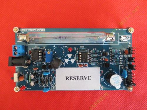 盖革计数器 开源 套件 核辐射检测 带米勒管 GM管 检测仪 放射性-图片