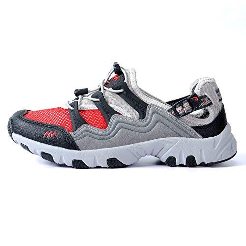 GERTOP 德意志山峰 夏季超轻透气排水溯溪鞋 男户外网布鞋X3333001