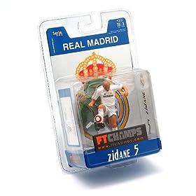 正品Ftchamps世界杯足球明星Zidane齐达内玩偶/模型 11元包邮