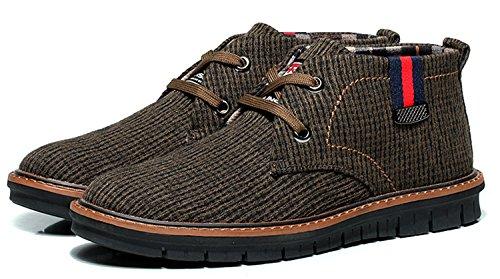 mulinsen 木林森 冬季男士棉鞋保暖流行男鞋高帮板鞋韩版潮流高帮鞋