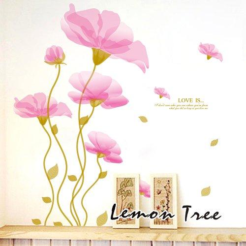 回至lemon tree 柠檬树 pvc浪漫客厅卧室家居装饰电视沙发背景墙可