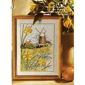 尚世纪 法国dmc十字绣正品专卖最新款小幅欧式风景名画卧室系列 荷兰