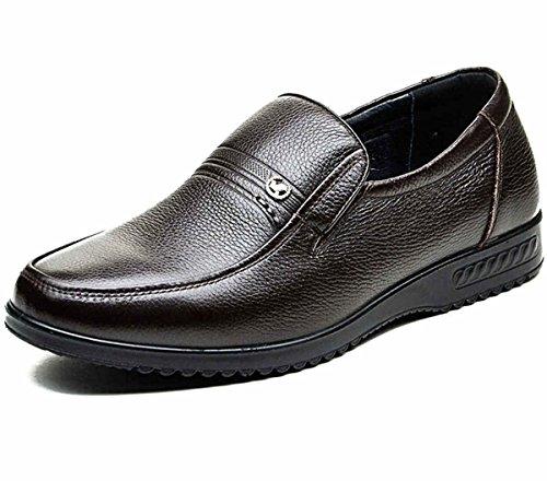 FGN 富贵鸟 潮流时尚商务休闲皮鞋 低帮正装皮鞋 男士皮鞋 休闲鞋 新款套脚皮鞋 四季鞋男鞋