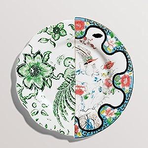 纸餐盘画动物手工