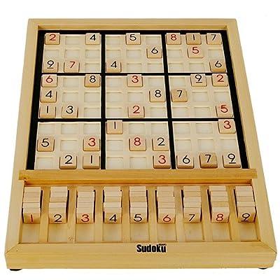 sudoku 木制益智数独迷宫游戏盘 九宫格填数游戏