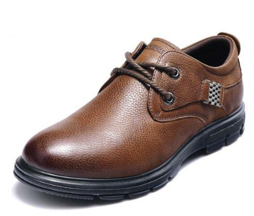 FGN 富贵鸟 2013英伦商务休闲鞋真皮鞋男士低帮鞋
