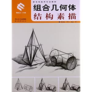 新世纪美术专业教材:组合几何体结构素描 [平装]