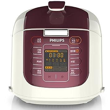 飞利浦(PHILIPS)  HD2033/21 微电脑式双胆电压力锅 5L