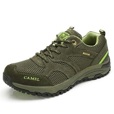 Camel 骆驼 户外鞋 2013新品 男款徒步鞋 登山鞋 网面透气 运动男鞋 82330618