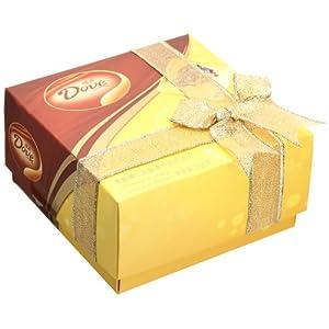 送妹子首选 DOVE 德芙 香脆榛仁和丝滑牛奶巧克力 165g 29.9元包邮