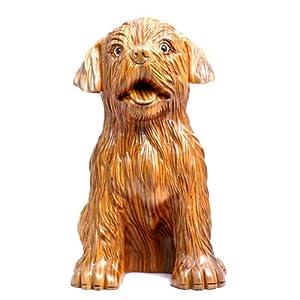 和卉堂 吉祥物狗 招财旺福 如意狗摆件 创意饰品 动物