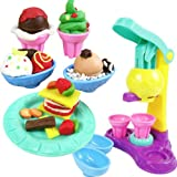 HABIBI冰淇淋彩泥 3D彩泥 过家家玩具 益智玩具 彩泥套装 橡皮泥-图片