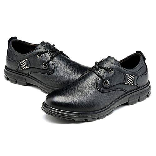 木林森2015新款英伦男鞋子系带商务皮鞋男士休闲鞋潮流行低帮真皮透气单鞋