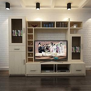 现代简约客厅整体家居组合电视柜酒柜展柜书柜储物柜