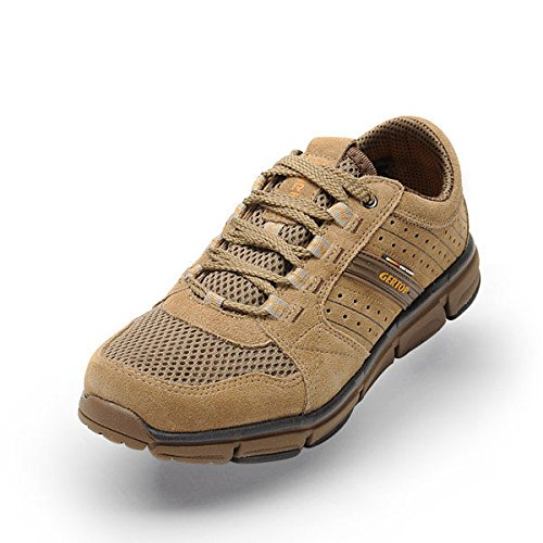 GERTOP 德意志山峰 户外鞋 夏季超轻透气网布徒步鞋男