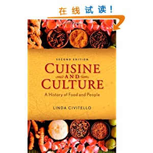 history of food culture A wonderful introduction to world history for non-majors, cuisine and culture specifically targets undergraduate culinary and hospitality programs covers prehistory through the present day--from the discovery of fire through the launch of the food.