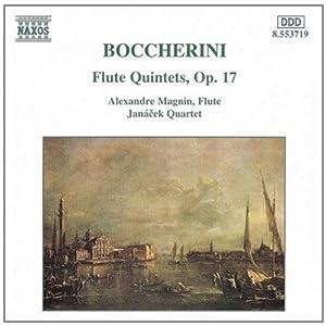 D 第一至第六长笛五重奏曲 Boccherini Flute Quintets,Op.17 CD 8.