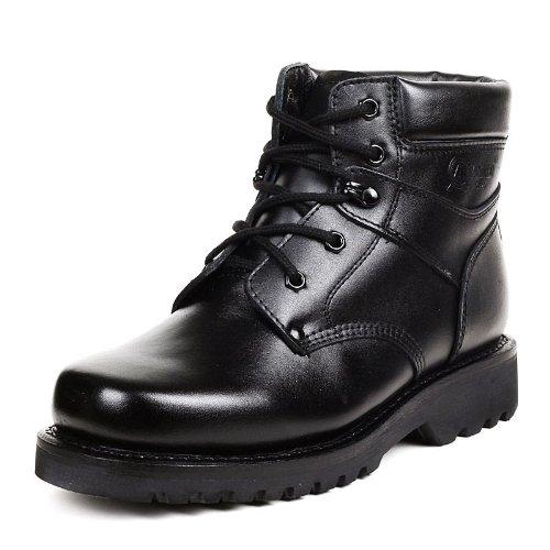 强人 3515强人羊毛军靴男皮毛一体特价靴子保暖靴子男靴大头鞋11010