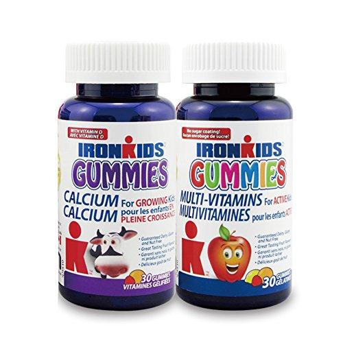 IronKids 小铁人 儿童多种维生素+果胶成长软糖组合30粒*2瓶 122.52元