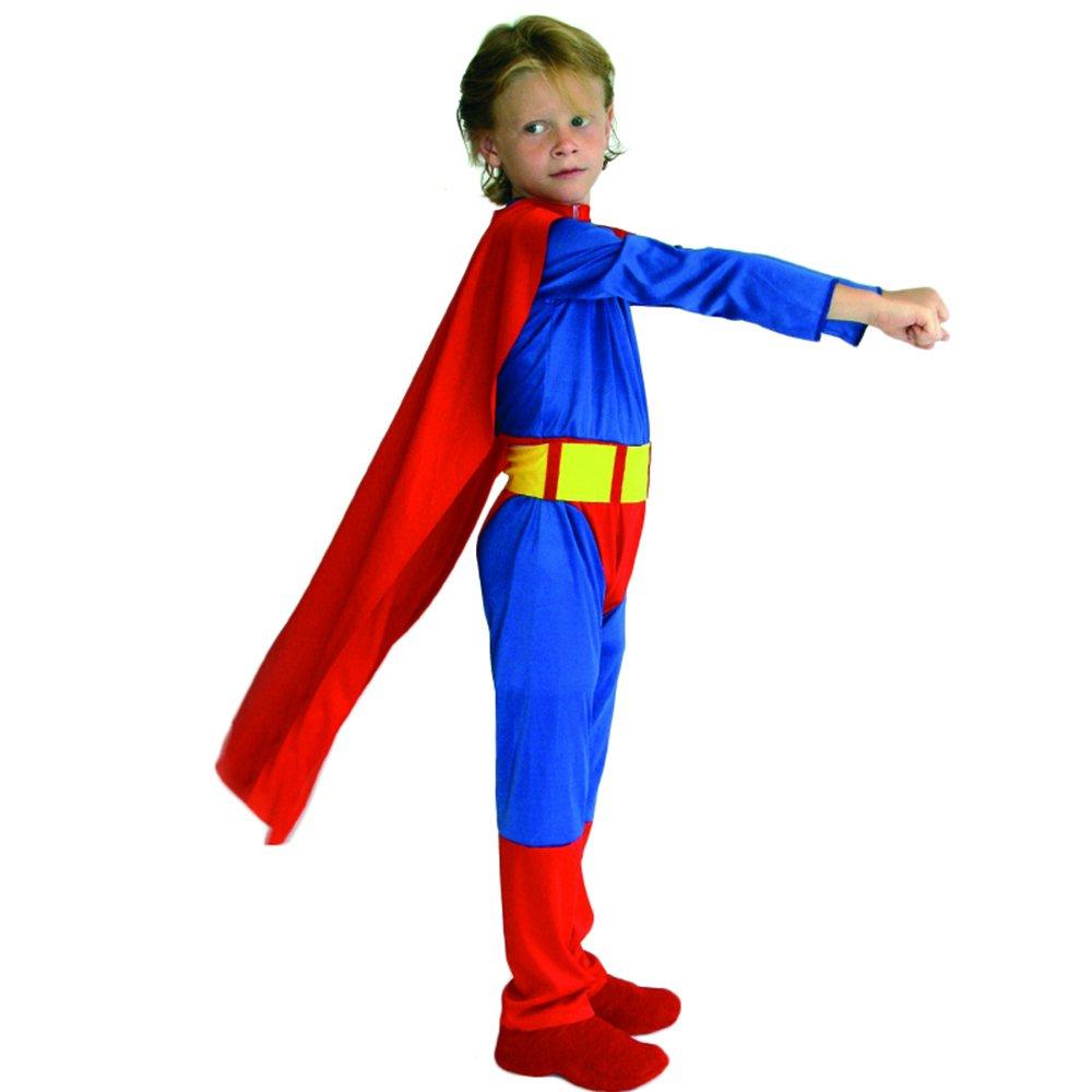 万圣节儿童服装男童表演服男超服派对舞会超人衣服