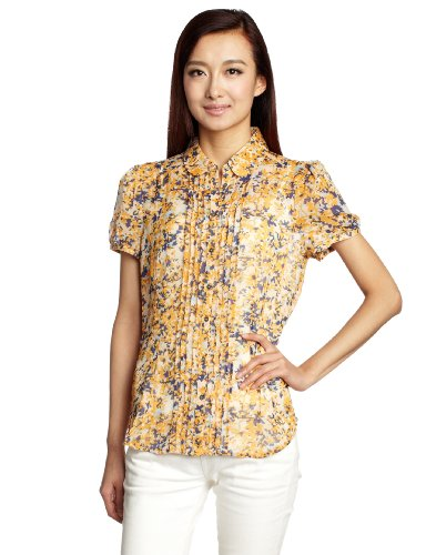 Esprit 埃斯普利特 女式 短袖休闲衬衫 PC1349