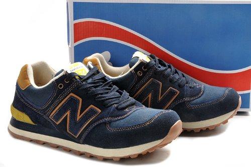 New Balance 新百伦 工装系列 男式运动复古休闲鞋 深蓝色 ML574WKN