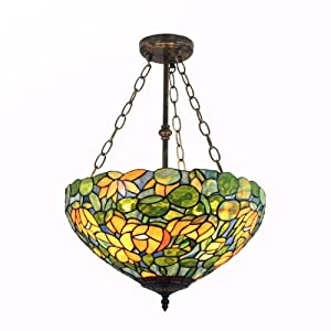 口径传统欧式风格黄色玫瑰花精品吊灯彩色