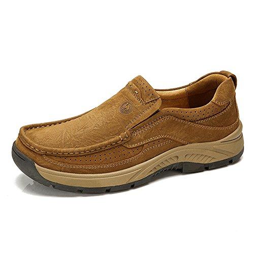 骆驼牌 男鞋 秋冬新款套脚休闲男士鞋子流行男鞋低帮鞋W432302030
