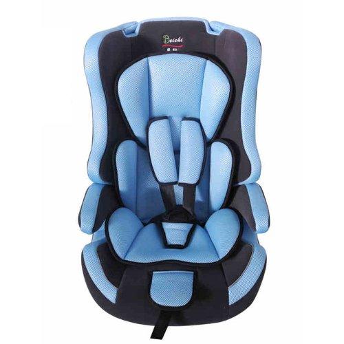 贝驰  加厚汽车婴幼儿童安全座椅 (经典蓝)-图片