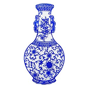 西府 手工青花瓷剪纸作品特色手工艺品外事商务出国礼品