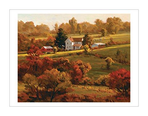 乡村风景装饰画|建筑装饰画|家园|风景装饰画|景观风格|装饰画分类