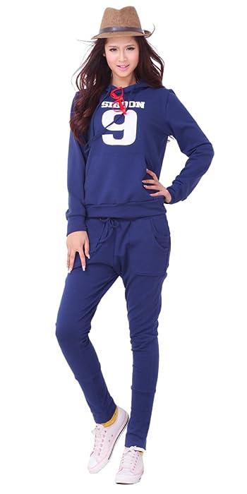春季深蓝色运动服怎么