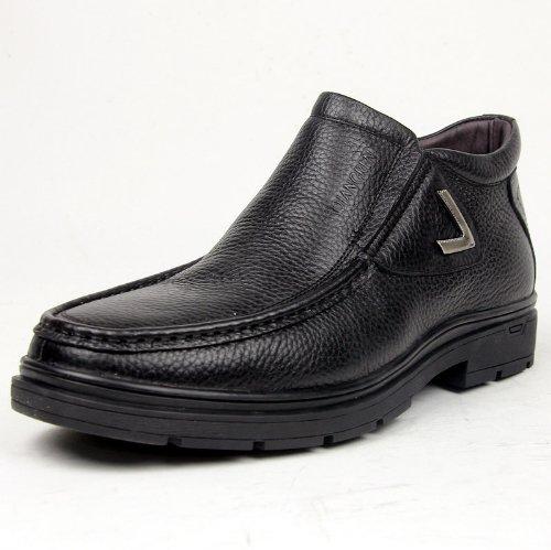 3515 强人/新款/羊毛/内里/皮靴/休闲/保暖/棉鞋子 9S-3318C