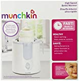 Munchkin High Speed Bottle Warmer, White