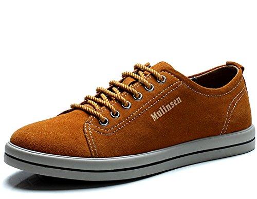 木林森 男士英伦潮流系带复古韩版滑板鞋 时尚低帮潮鞋单鞋休闲鞋男鞋子