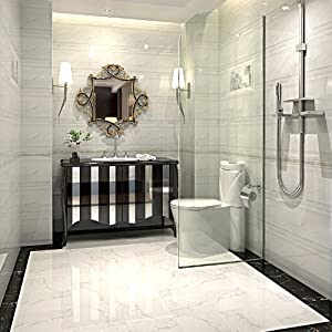 高恩 墙砖瓷片 釉面砖瓷砖 腰线 水墨花片 厨房墙砖地砖 卫生间墙砖 q图片