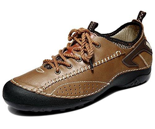 春秋时尚男鞋 男士透气真皮户外登山鞋 运动户外单鞋 潮流男鞋 低帮牛皮鞋 驾车鞋 5G724