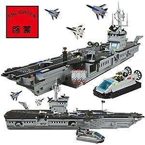 舰模型兼容乐高拼装