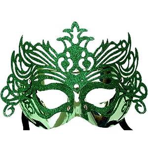快乐派对 化装舞会面具 意大利威尼斯面具 皇冠面具 金砂面具 金粉