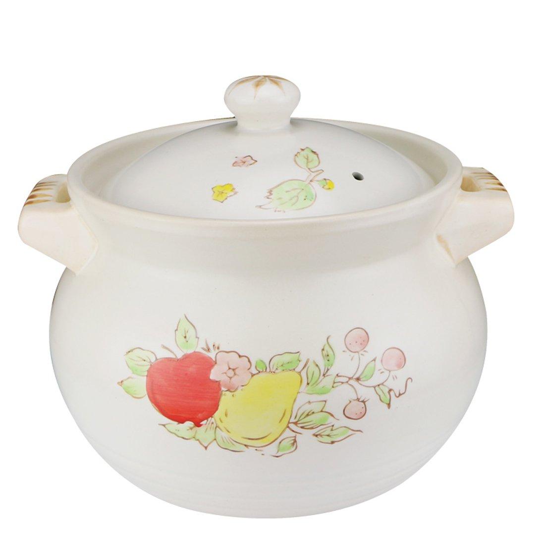 5l养生陶瓷煲汤锅 闷粥锅汤锅 砂锅炖锅陶瓷 韩式砂锅 炖锅