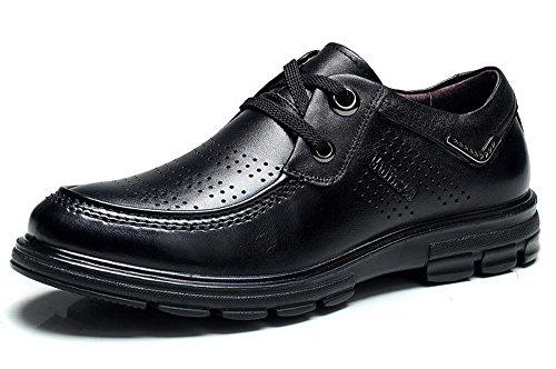 Mulinsen 2015夏秋季透气穿孔男鞋 男士商务休闲皮鞋 英伦潮流真皮鞋子 百搭低帮单鞋子 2L30479