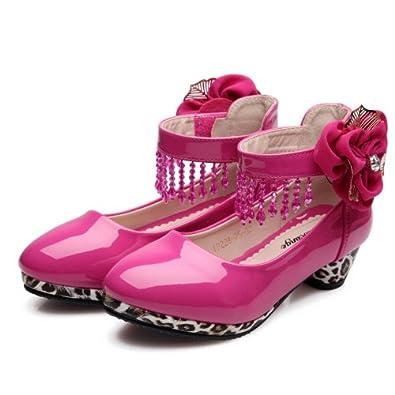 晓村鸽 儿童女童皮鞋 公主鞋高跟鞋2013新款韩版女童单鞋 韩版公主