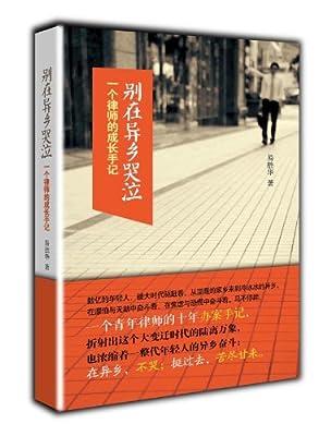 别在异乡哭泣:一个律师的成长手记.pdf