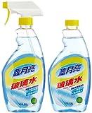 蓝月亮玻璃水500g+玻璃水补充瓶装500g(特)