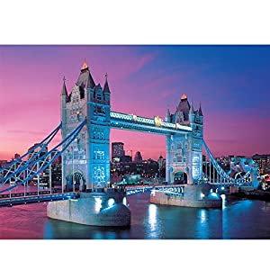 风景拼图2000片 装饰画 益智高品质益智拼图 建筑/公室/客厅挂画 伦敦