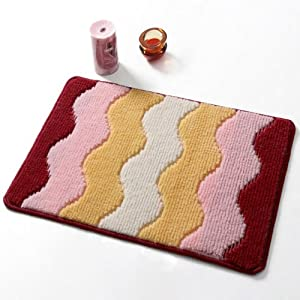 2013 正品 特价 DADA 大达 伊诗莱芙 丙纶多色垫 DA7492-1 红色 约40*60cm