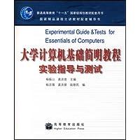 大学计算机基础简明教程实验指导与测试
