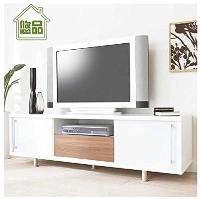 白色推拉门简约电视柜 特价宜家欧式视听柜子家居